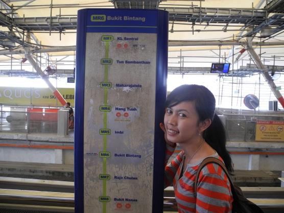 KL Central to Bukit Bintang