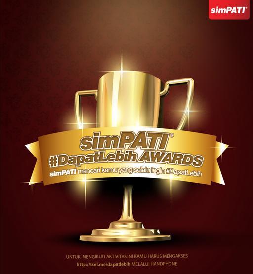 simPATI #dapatLEBIH award