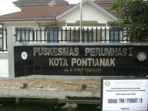 Puskesmas Perumnas I Kota Pontianak (Foto milik Dinkes Kota Pontianak)
