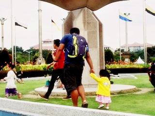 Taman cantik Putra Jaya