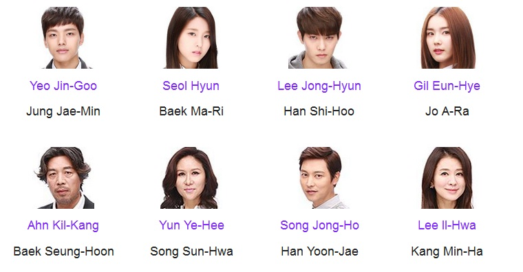 Cast DRAKOR Orange Marmalade