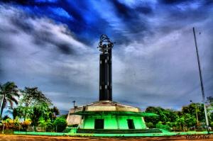 kangen lihat langit biru di Pontianak, rasanya udah 3 bulan langitnya isi asap pembakaran hutan aja :(