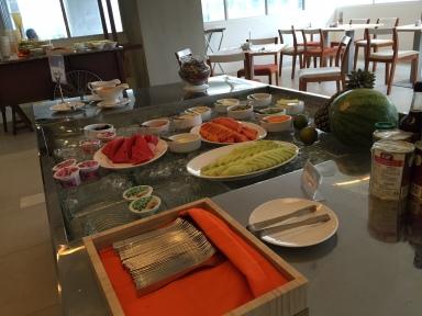 Menu sarapan Hariss Hotel