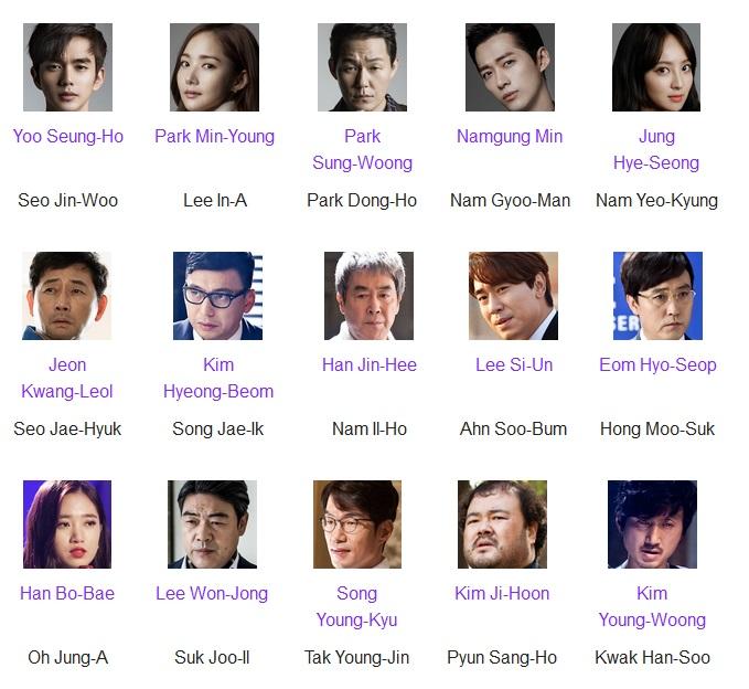 Cast Drama Korea Remember (pemain utamanya Yoo Seung Ho sama sekali aku belum pernah nonton drama dia sebelum ini. Kalau Park Min Young seh gak usah ditanya lah yak, banyak banget dah dari Healer, dr. Jin, Sungkyunkwan Scandal, dll. Namgung Min juga sering banget lihatnya. Terakhir seh nonton yang pas maen The Girl Who Sees Smells, Terakhir Jung Hye Seong juga sering banget lihatnya terakhir di Oh My Venus dan Blood