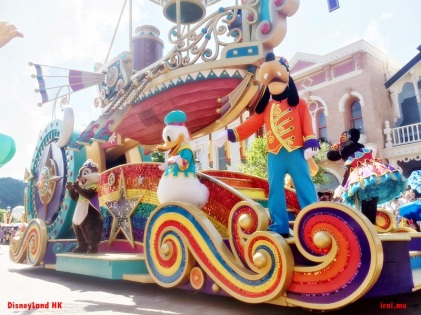 Parade Disneyland Hongkong - Donald Duck and Goofy