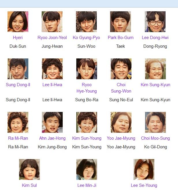 Cast yang pemaen remajanya rata-rata hampir aku gak kenal kecuali Park Bo Gum yang pernah aku tonton di Hello Monster - I Remember You