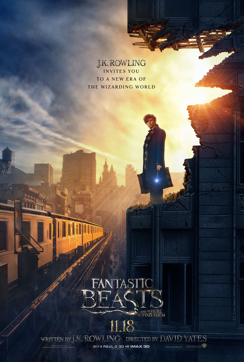 Cover Film Fantastic Beasts