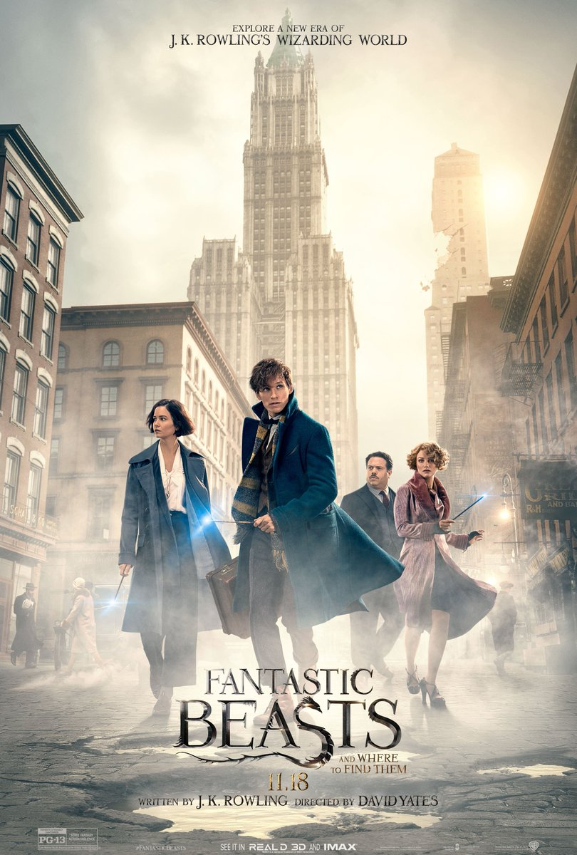 Cover Film Fantastic Beasts