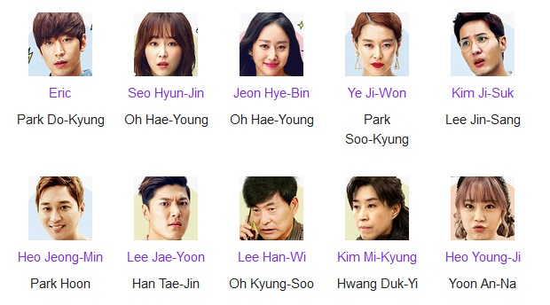 Cast Another Oh Hae Young