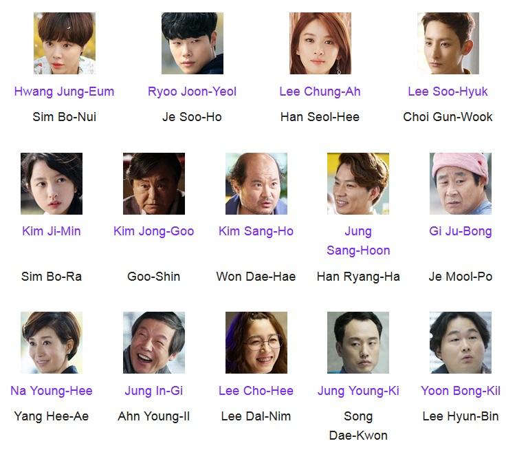 Cast Lucky Romance : Ryoo Joon-Yeol pernah maen di Reply 1988 seperti yang aku sebutkan di atas, Hwang Jung-Eum banyak maen di drama kayak She Was Pretty, Kill Me Heal Me, dll. Lee Soo-Hyuk jadi vampire Gwi di Scholar Who Walk The Night