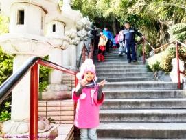 Tangga menuju ke Haedong Yonggungsa Temple